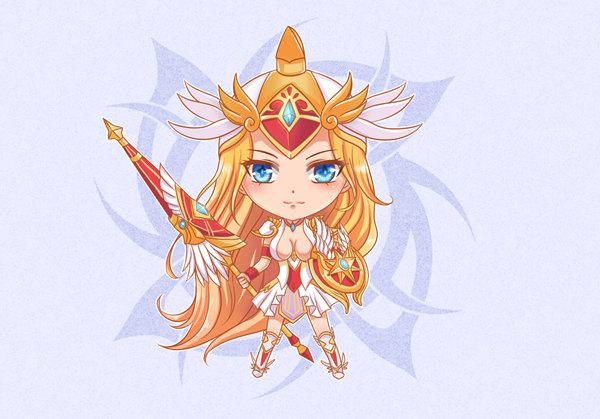 【Q版壁纸】战争女神-雅典娜